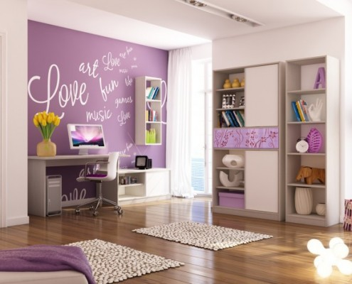 9-Purple-white-girls-bedroom-665x470