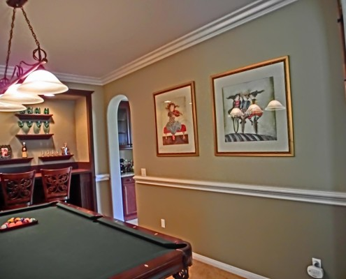 Pool room in the Temecula wine country