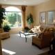 Traditional living room interior design