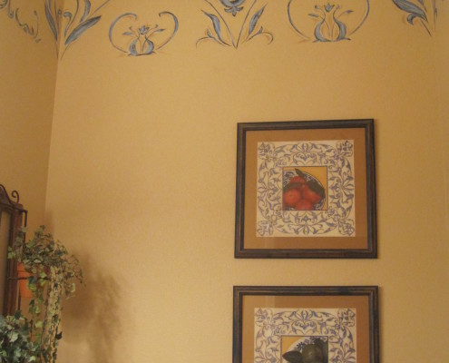 Wall murals and custom framing