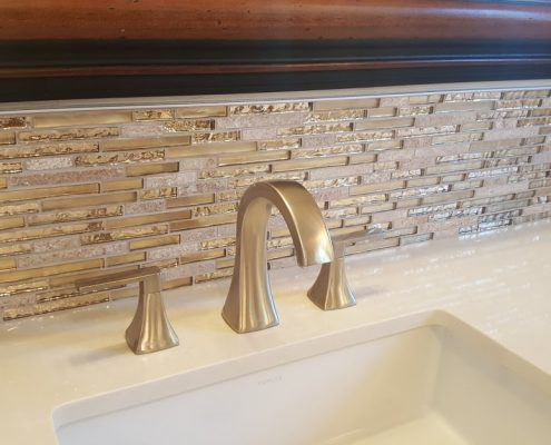 Beautifully Designed Backsplash Interior Design